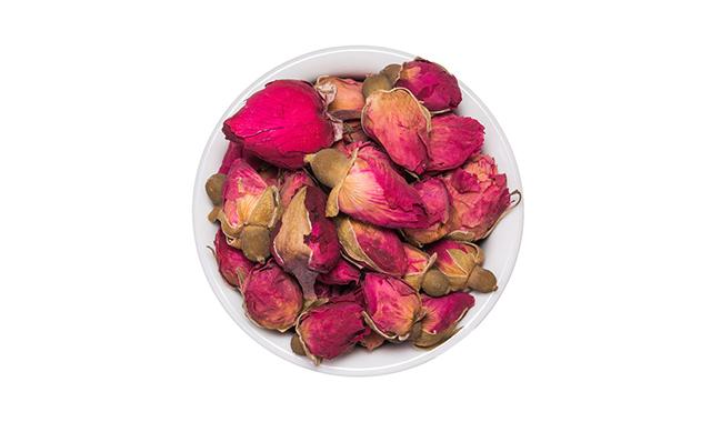 1. Rose Bud Tea