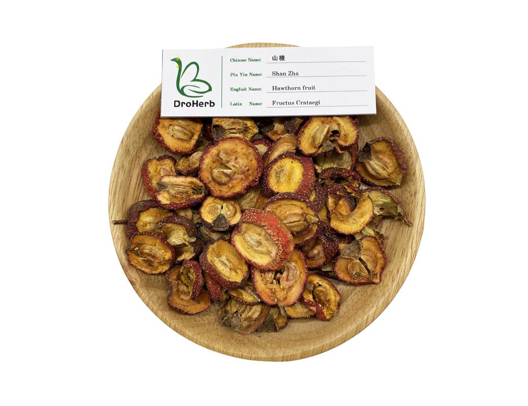 Pure dried herb fruit hawthorn berry shan zha Fructus Crataegi for stomachache